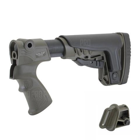 Приклад на ружье МР-135, -155 олива, DLG Tactical