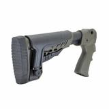 Приклад на ружье МР-135, -155 нескладной, вид сзади, DLG Tactical