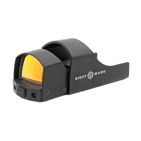 Коллиматорный прицел Sightmark Mini SM26003 с защитным капюшоном.