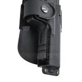 Вырез под фонарь или ЛЦУ на кобуре для Glock 19