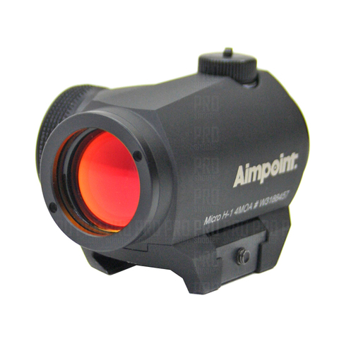 Aimpoint Micro H1, коллиматорный прицел с точкой 4 МОА.