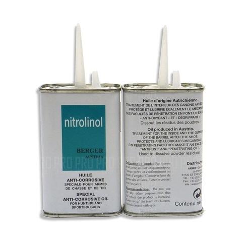 Масло для оружия универсальное - Armistol Nitrolinol Berger, масленка, 120 мл