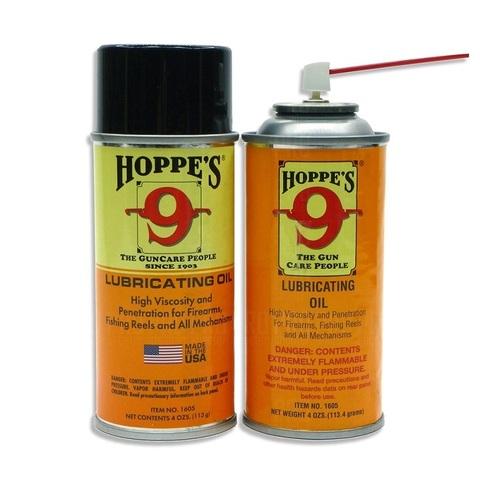 Оружейное масло высокой вязкости Hoppe`s, аэрозоль 120 мл