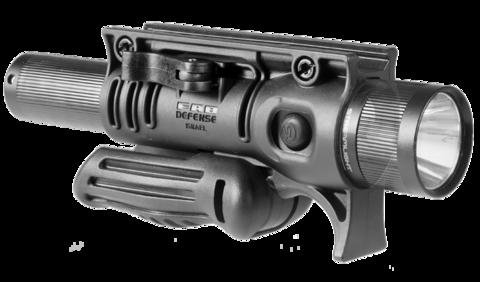 Тактическая рукоятка FFA с подствольным креплением фонаря, Fab Defense