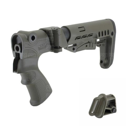 Пластиковый приклад МР-155, -135 №4, DLG Tactical