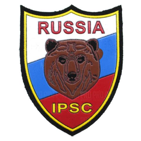 Термошеврон IPSC  Russia пришивной.