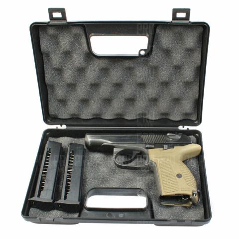 Кейс Negrini для пистолета с ПМ и двумя магазинами к нему