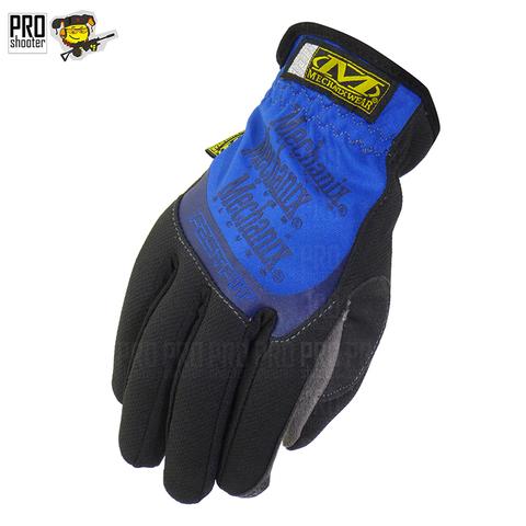 Перчатки стрелковые Mechanix Fast Fit MFF (Синий цвет)