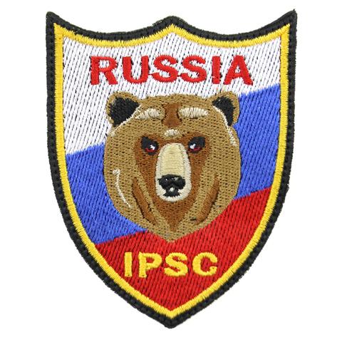 Шеврон IPSC с медведем