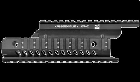 Тактическое цевье на VZ-58 со ствольной накладкой, алюминий, Fab Defense