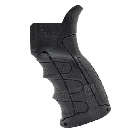 Пистолетная рукоятка на AR15,  вид слева