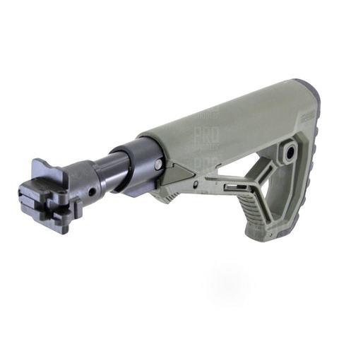 Складной приклад на ВПО-205 олива, Fab Defense