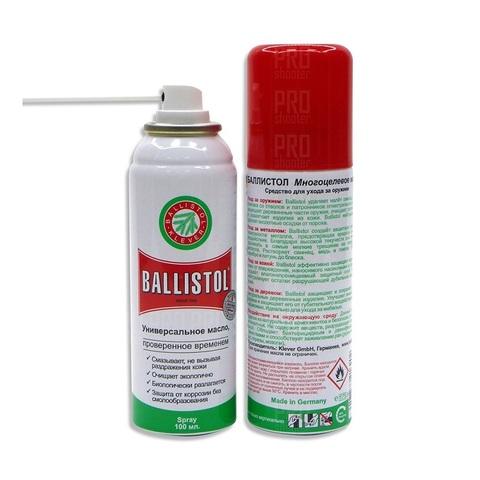Масло для оружия BALLISTOL spray 100 ml