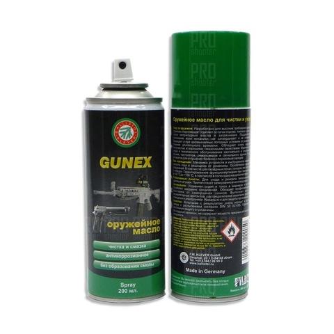 Масло для оружия Gunex spray 200ml