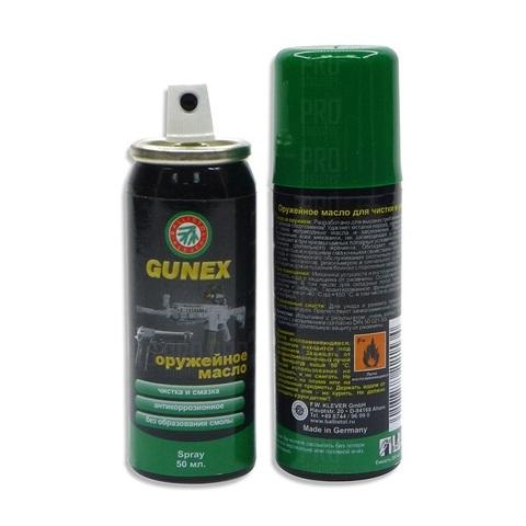 Масло для оружия Gunex spray 50ml