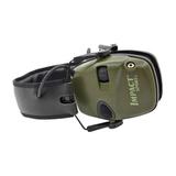 Активные наушники Howard Impact Sport - на фото видны микрофон и регулятор громкости