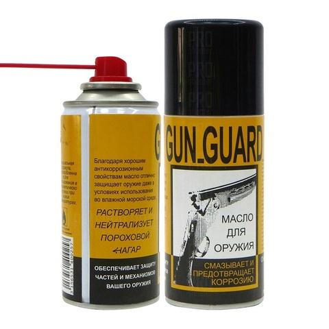 Масло для оружия универсальное Armistol Gun Guard аэрозоль, 150 мл