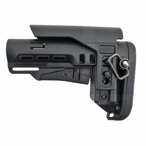 Телескопический приклад TBS Tactical с подщечником и антабкой, DLG Tactical