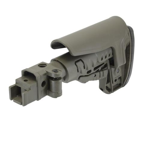 Пластиковый приклад на АК-74, DLG Tactical
