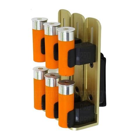 Патронташ 12 калибра на 6 патронов спортивный S-Tac Basic H & S