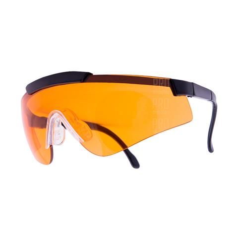 Очки стрелковые ARTILUX Sporty, с оранжевыми линзами
