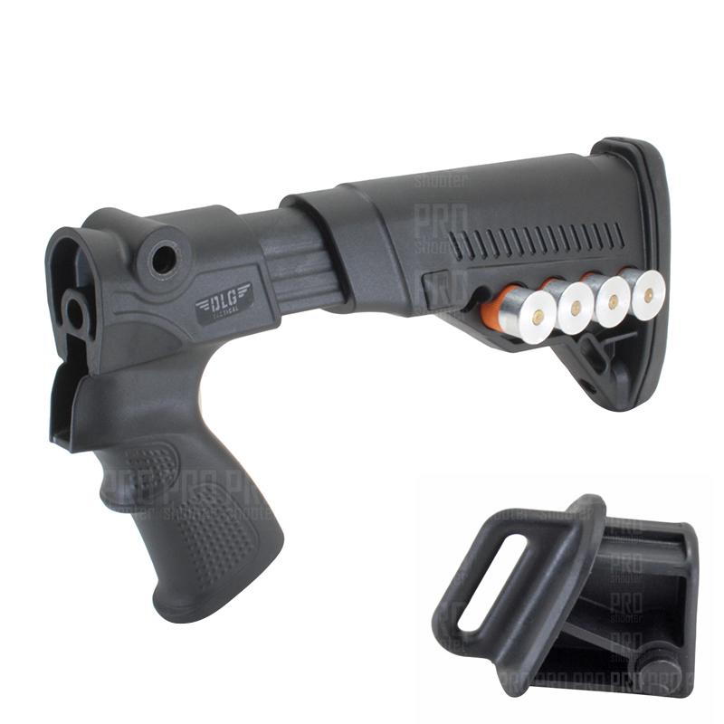 Телескопический приклад на МР-135, -155, DLG Tactical