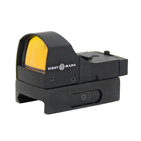 Коллиматорный прицел Sightmark Mini панорамный с креплением на планку Weaver.