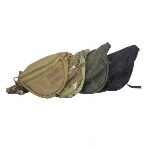 Поясная сумка UP-117 в цвете: койот, мультикам, олива и черный