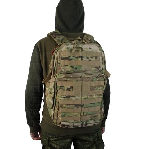 Рюкзак RUSH 24 от 5.11 вид сзади