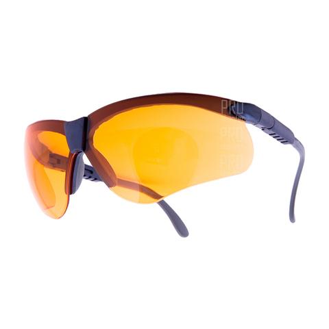 Очки стрелковые ARTILUX Puma, с оранжевыми линзами