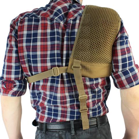 Плечевой амортизатор отдачи вид сзади, Stich Profi