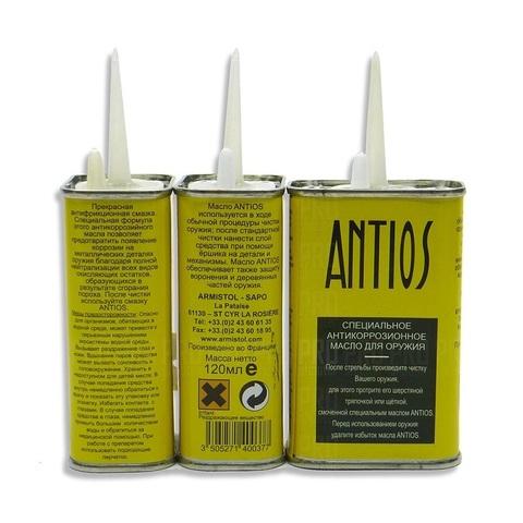 Масло для оружия универсальное Armistol Antios Flash масленка, 120 мл