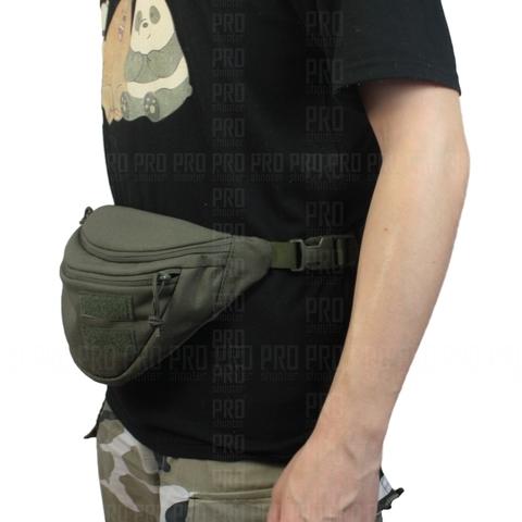 Поясная сумка Wartech UP-117 на обычном ремне