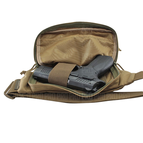 Пистолет Grand Power  в сумке-кобуре от Wartech