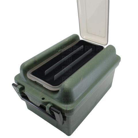 Поролоновая прокладка и разделители в ящике под патроны от МТМ