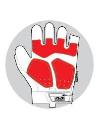Перчатки стрелковые Mechanix M-Pact FINGERLESS