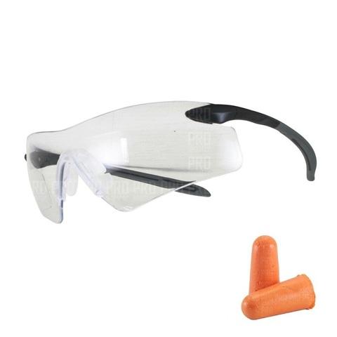 Набор очки и беруши, Pyramex