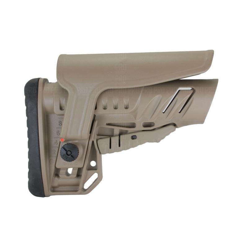 Телескопический приклад TBS Shock, DLG Tactical