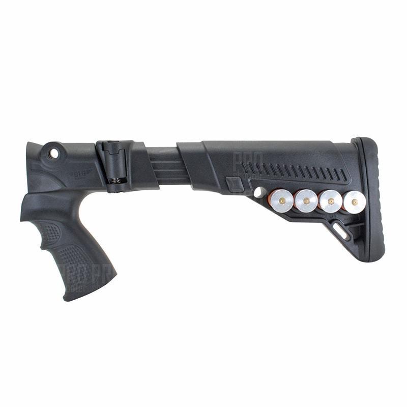 Складной приклад на МР-155, -135 №4, DLG Tactical