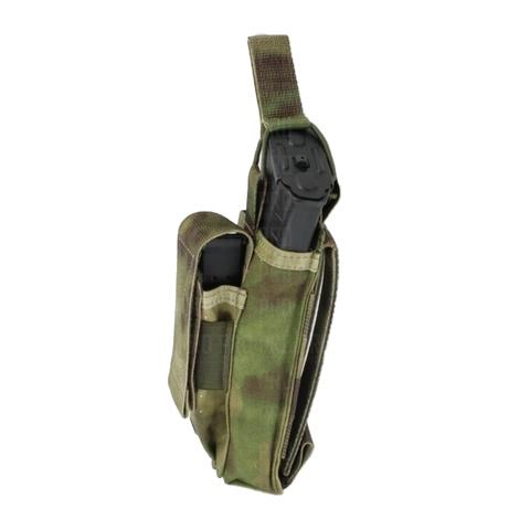 Тактический подсумок для 1 магазина АК, AR, ВАЛ и 1 пистолетного магазина