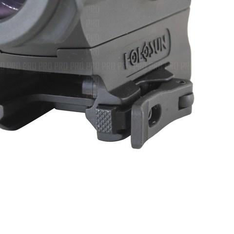 Прижимной кнопочный механизм коллиматора Holosun HE530G