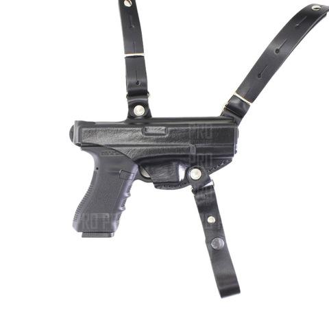 Оперативная кобура для Glock 19 скрытого ношения, Стич Профи, модель №21