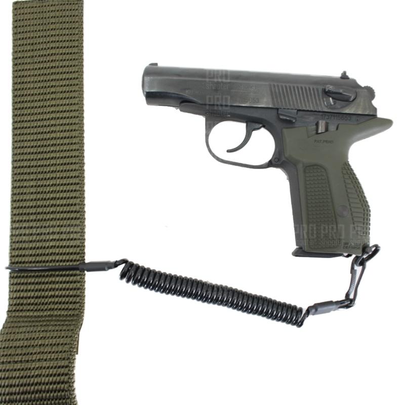 Шнур пистолетный витой, черный, Stich Profi
