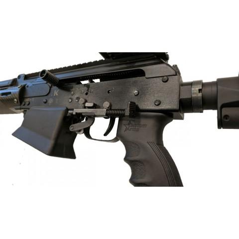 Сброс магазина на Сайгу 12, Custom Guns на оружии