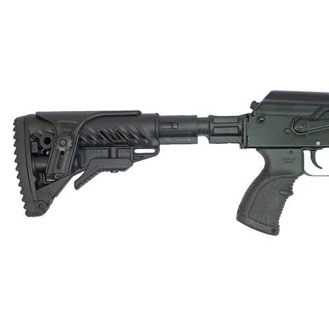 Телескопический приклад для АК SBT-K47 FK с тактическим оружейным ремнем, Fab Defense