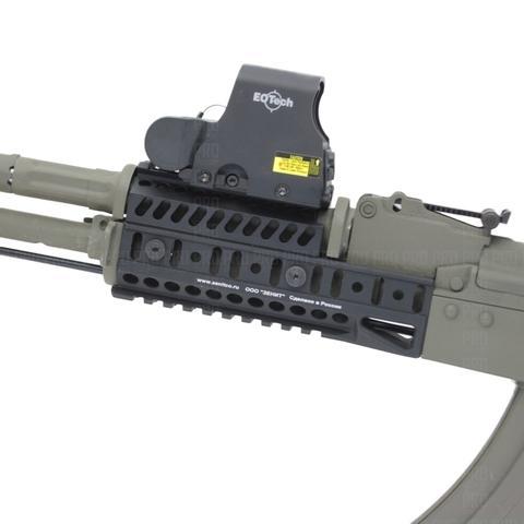 Цевье Б 10 У на оружии