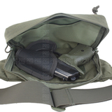 Пример использования вкладыша с сумкой-кобурой