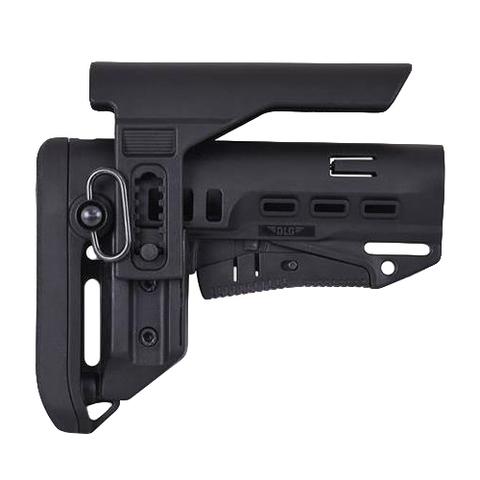 Регулируемый подщечник на телескопическом прикладе TBS Compact, DLG Tactical