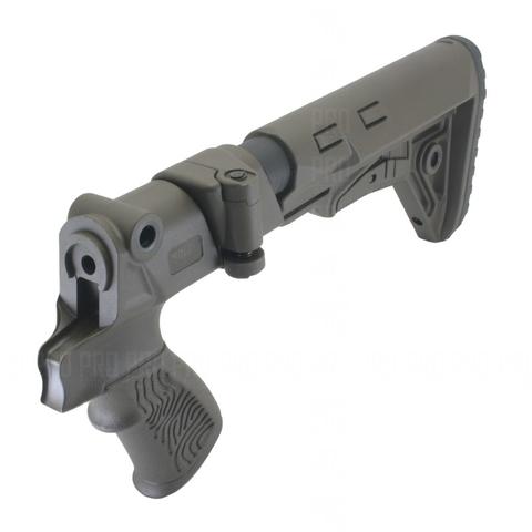 Приклад складной на Mossberg 500, DLG Tactical