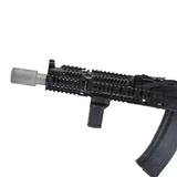 Дожигатель на АК VR-DT титановый на оружии, Вектор-7,62